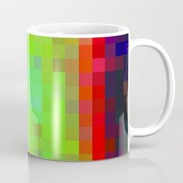 Digital Patchwork: Spot Study Inverted Coffee Mug