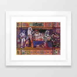 Rock and Roll Framed Art Print