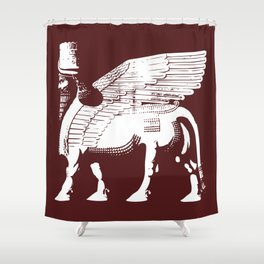 Lamassu Shower Curtain