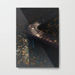 On the Street in Berlin Metal Print