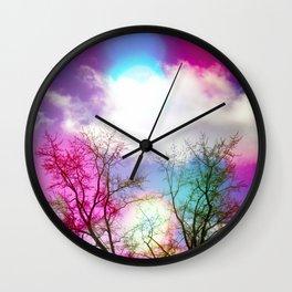 Flavored Skies  Wall Clock
