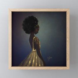 Golden Framed Mini Art Print