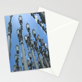 LACMA Lamp Posts 1  Stationery Cards