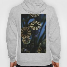Poppy Flower Pods Bouquet Hoody