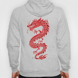 Chinese Dragon – Crimson Palette Hoody