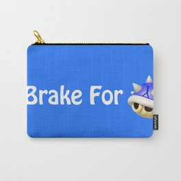 I Brake For Blue Shells (Mario Kart)  Carry-All Pouch