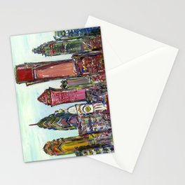 Philadelphia Skyline Stationery Cards