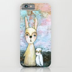 My Best Friend, Painting Baby Rabbit and Owl Slim Case iPhone 6s