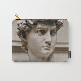"""Michelangelo """"David"""" (head)(1) Carry-All Pouch"""