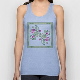 Folk patterns Unisex Tank Top