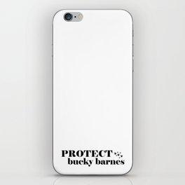 Protect Bucky Barnes iPhone Skin