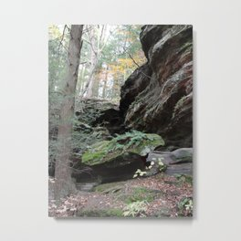 Somewhere in the Hocking Hills Metal Print