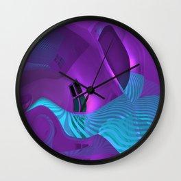 crooked room -5- Wall Clock