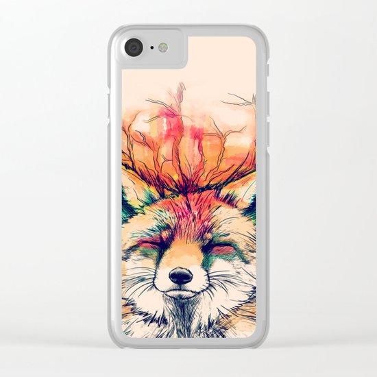 Fox Yeah! Clear iPhone Case