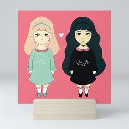 Me & You Mini Art Print