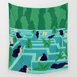 No Exit Wall Tapestry
