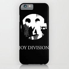 JOY DIVISION - Music | Goth | Indie | Wave | Retro | Vintage | Vector | Black and White | Vinyl  iPhone 6s Slim Case