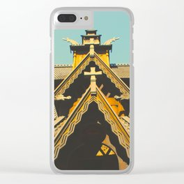 Vintage Stave Church Clear iPhone Case