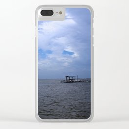 The Pier at Bokeelia I Clear iPhone Case