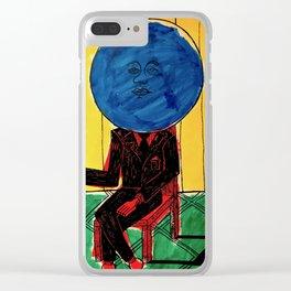 Bleuberry - Pop Art Surrealism Art Clear iPhone Case