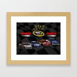 Team Hendrick Motorsports for 2012 Framed Art Print