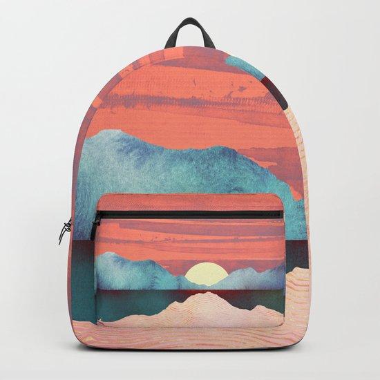 Pink Oasis Backpack
