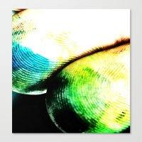tye dye Canvas Prints featuring dye by Jamie Bryant
