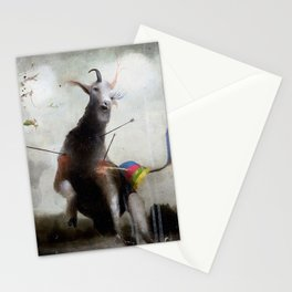 the golden fawn Stationery Cards