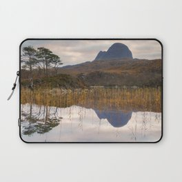 Suilven at Sunrise Laptop Sleeve