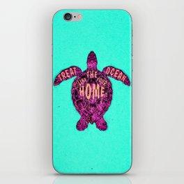 ocean omega (variant) iPhone Skin