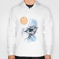 freedom Hoodies featuring Freedom by Cemile Pecquet