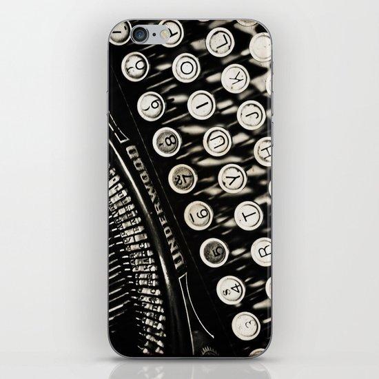 Underwood  typewriter iPhone & iPod Skin