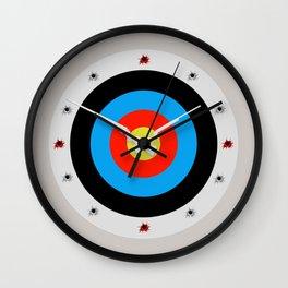 Bullseye clock design. Wall Clock