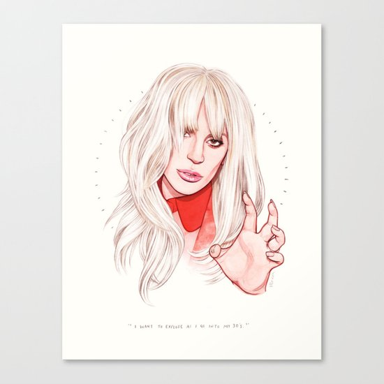 Billboard Woman of the Year Canvas Print