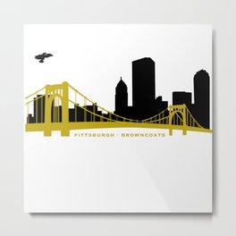 Pittsburgh Browncoats Metal Print