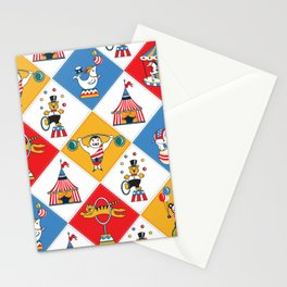 Baby Circus Stationery Cards