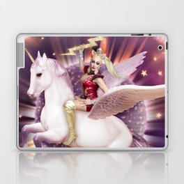 Andora: Drag Queen Riding a Unicorn Laptop & iPad Skin
