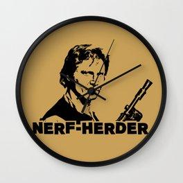 Nerf Herder  |  Han Wall Clock