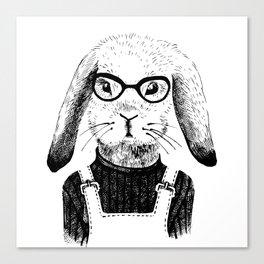Bunny Life Canvas Print
