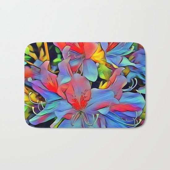Floral ArtStudio - wonderful flowers Bath Mat