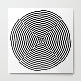 Optical Illusion #1 Metal Print