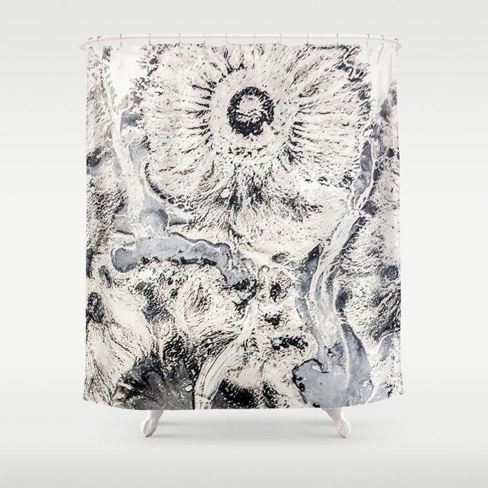 Mocha Diffusion Shower Curtain by amandacook | Society6