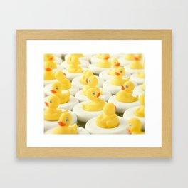 Rubber Ducky Time Framed Art Print