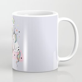 Mermaid & Unicorn Kaffeebecher