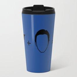 Bruce Wayne Equation Travel Mug