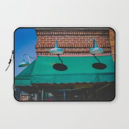 Outdoor Lighting and Awning Short North Arts District Ohio Laptop Sleeve
