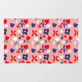 Bacchanal Handmade Floral Pattern Rug