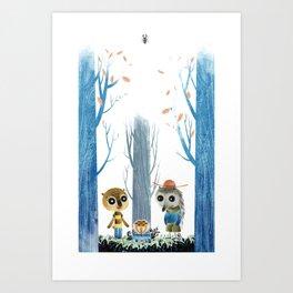 Benjamine and Jules Art Print