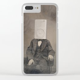 Faces of the Past: Mp3 Player Clear iPhone Case