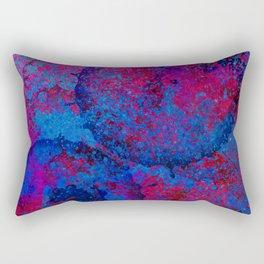 Abstract Spray Rectangular Pillow